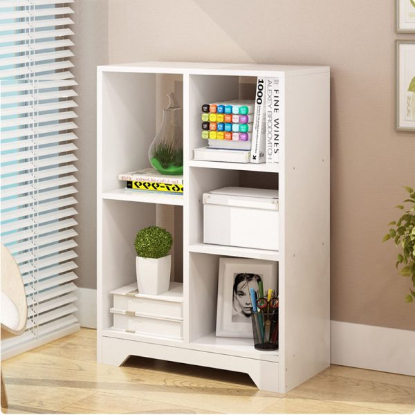 Modern Bookcase White for Home Office Type A
