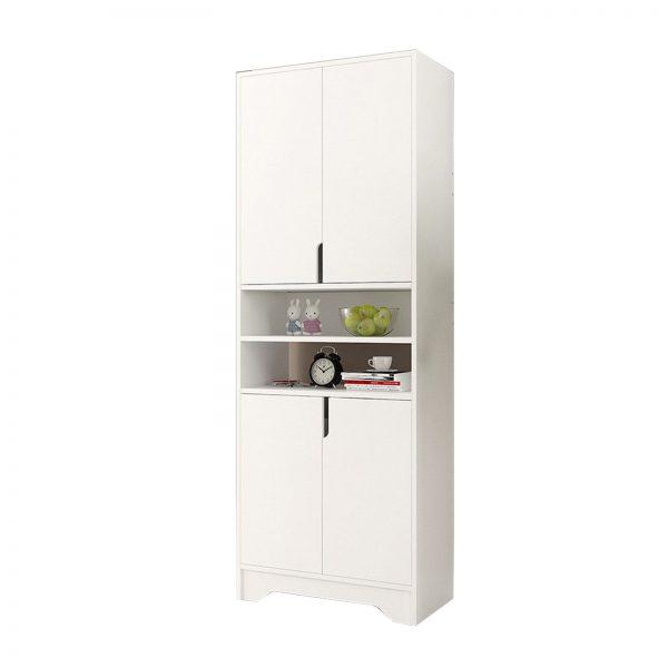 4 Doors Middle Shelf Extra Depth Shoe Cabinet